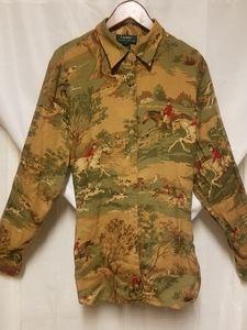 Vintage Ralph Lauren equestrian blouse